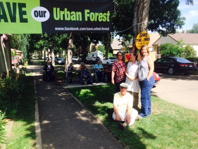 support the strathearn trees