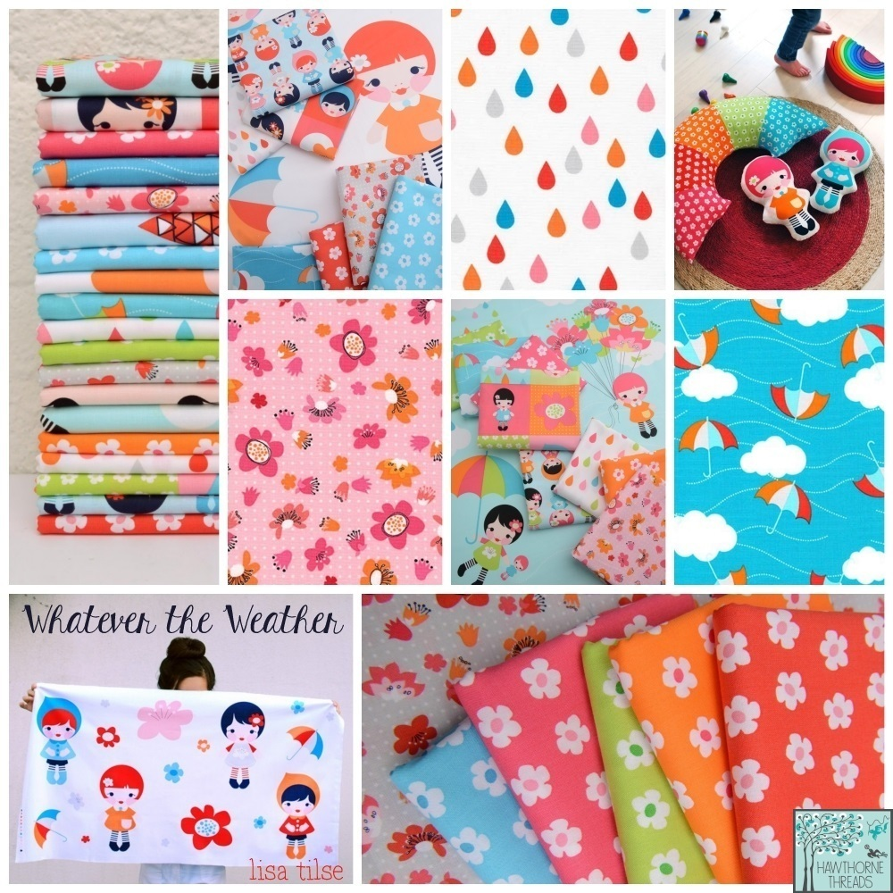 Whatever the Weather Fabric Poster