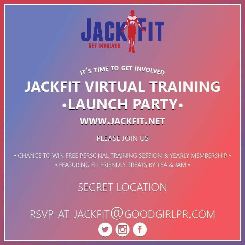 Join Us At The JackFit Virtual Training Launch Party