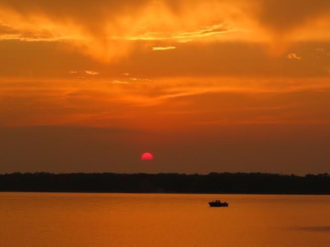 orange boat SherryG