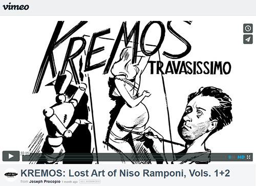 Kremos Vimeo small