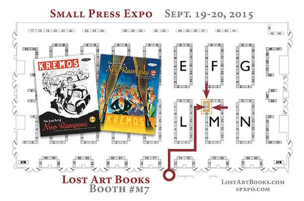 LOST ART BOOKS SPX2015 newsletter 72dpi