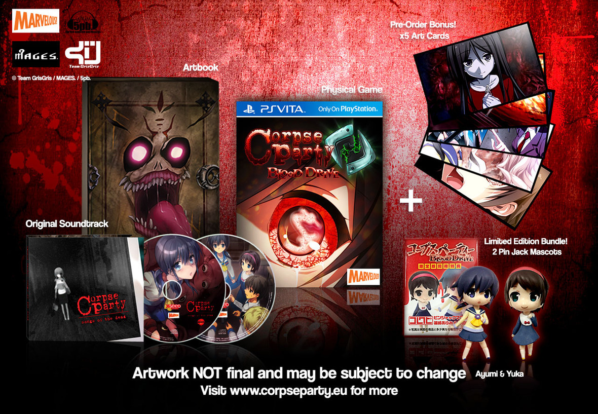 Corpse Party HeavenlyHost Edition new artwork v.3