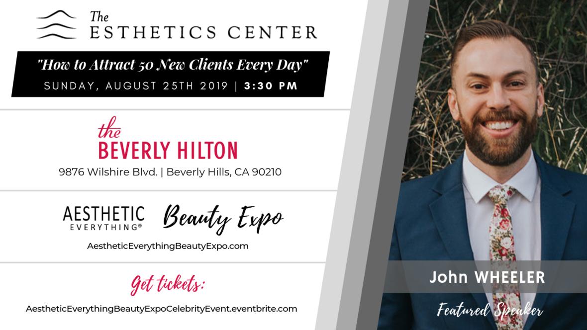 John Wheeler - Beauty Expo speaker