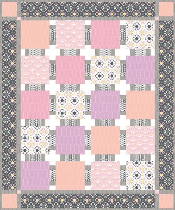 Baby Blocks Quilt by Larene Smith  CC website