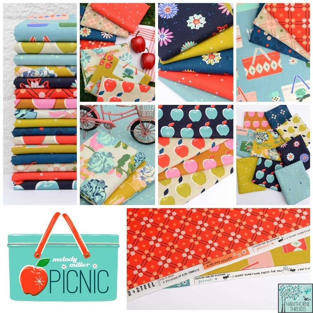 Melody Miller Picnic Fabric Poster 2