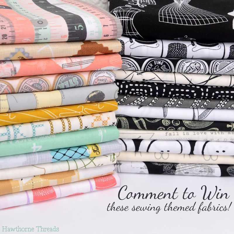 National Sewing Month Fabric Giveaway