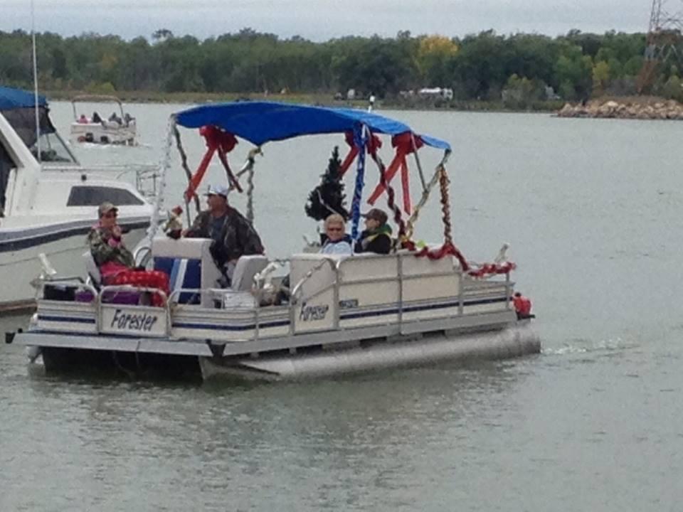 xmas boat