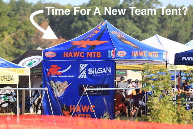 new team tent
