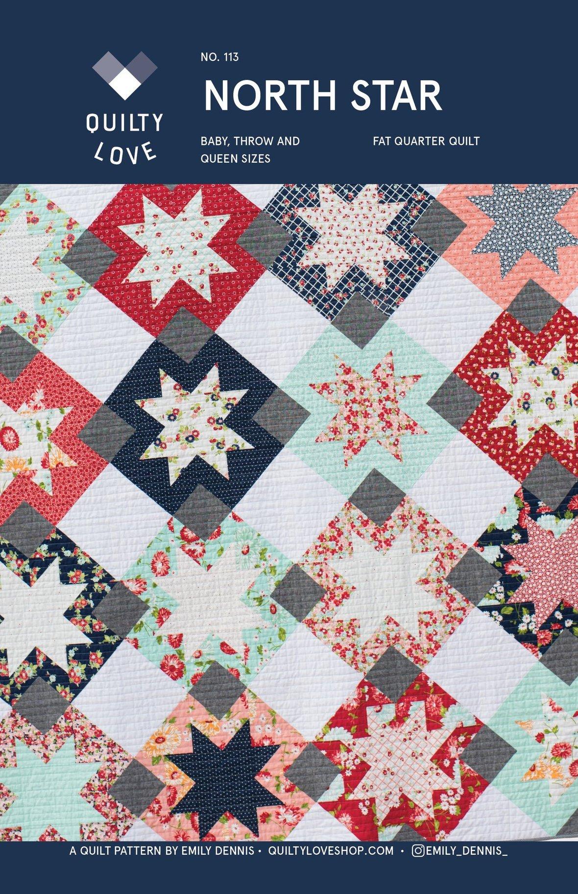 PAPER North Star Quilt Pattern REBRAND 1024x1024 2x
