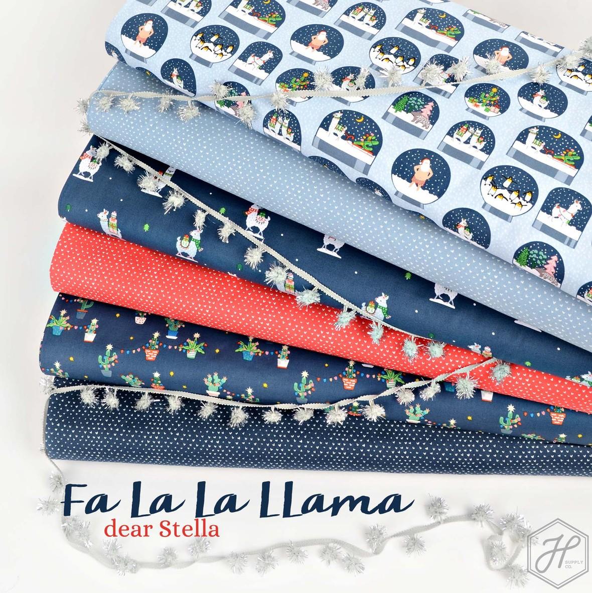Fa La Llama Fabric Poster Dear STella at Hawthorne Supply Co.