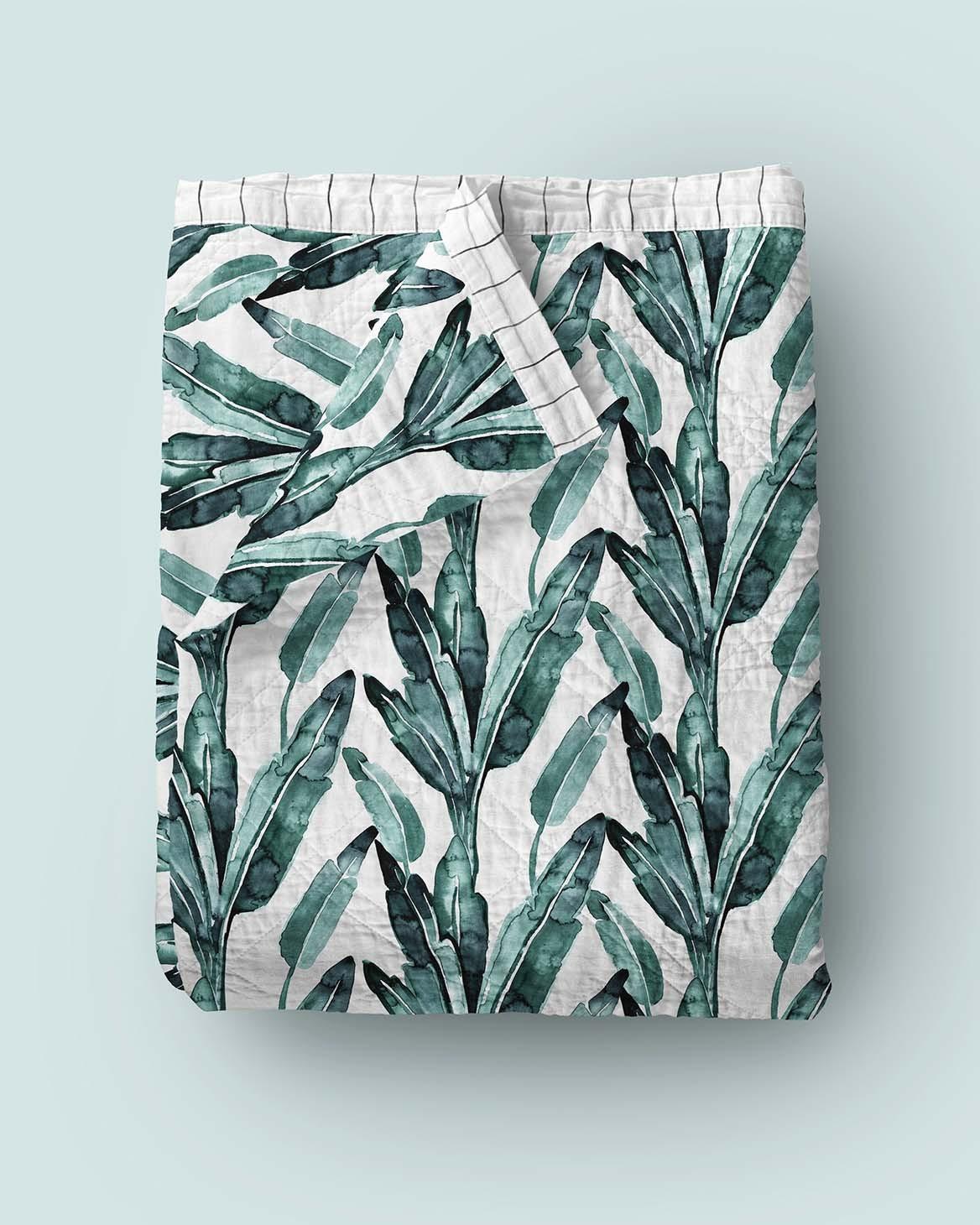 Banana Leaf Quilt Regular size