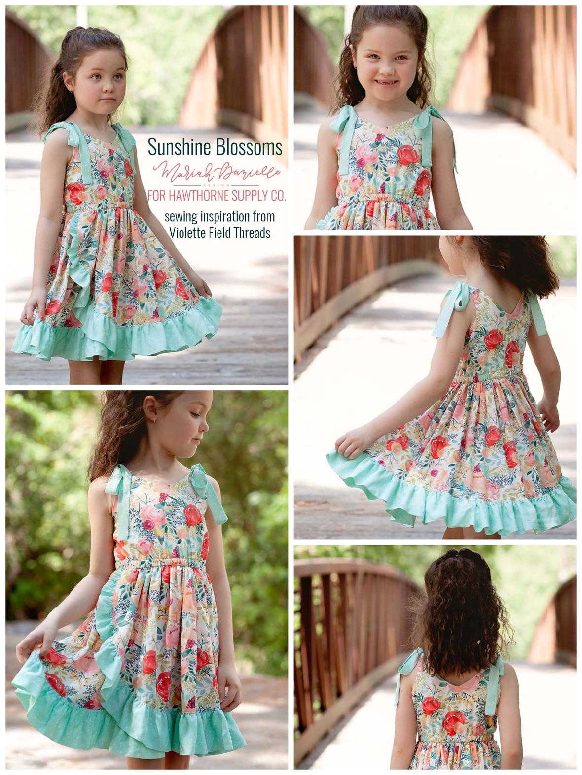 Ashley Cowan and Hawthorne Supply Co Fabric by Mariah Danielle Design
