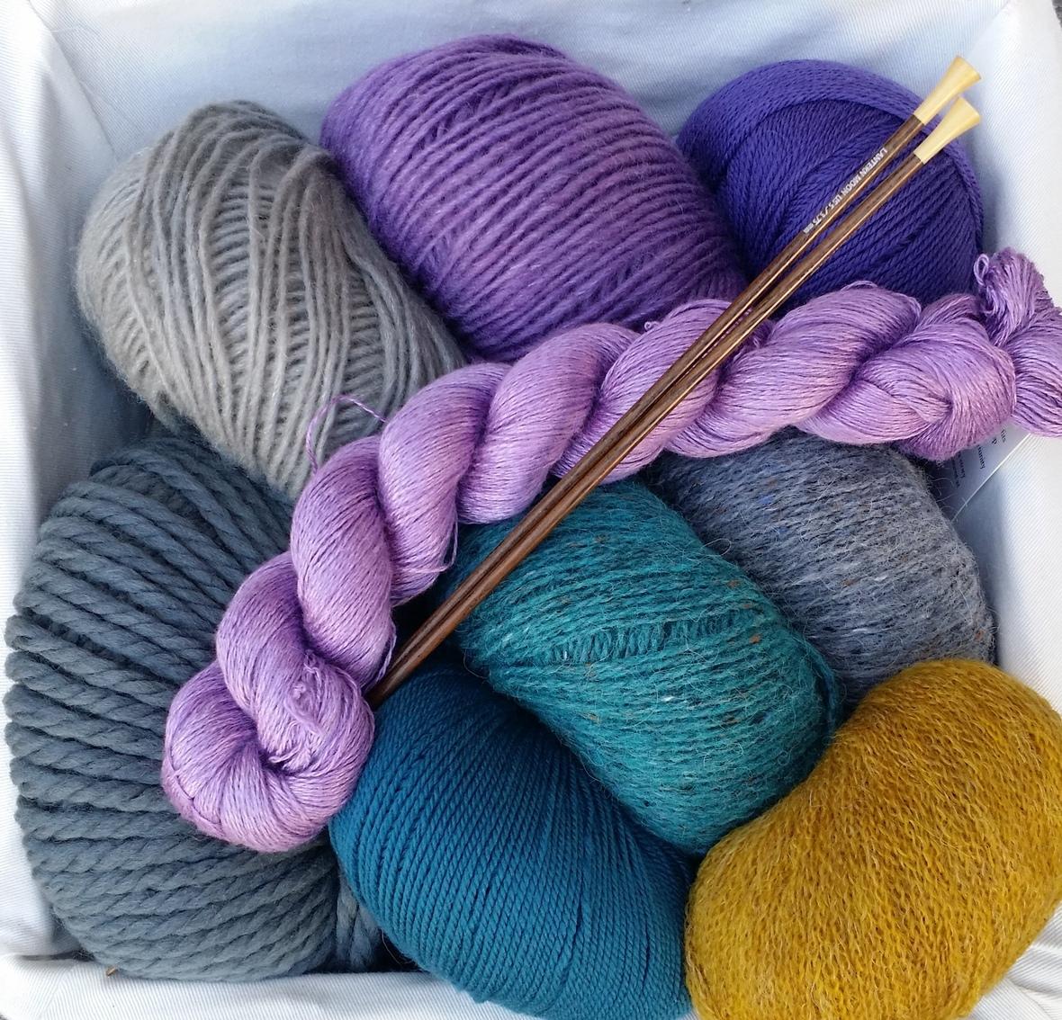 New yarn tasting 1