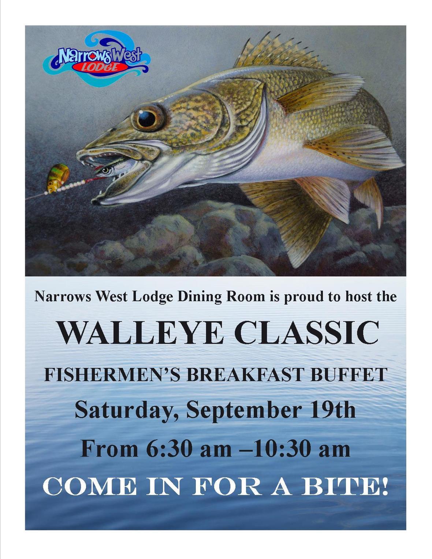 Walleye Classic Breakfast Buffet