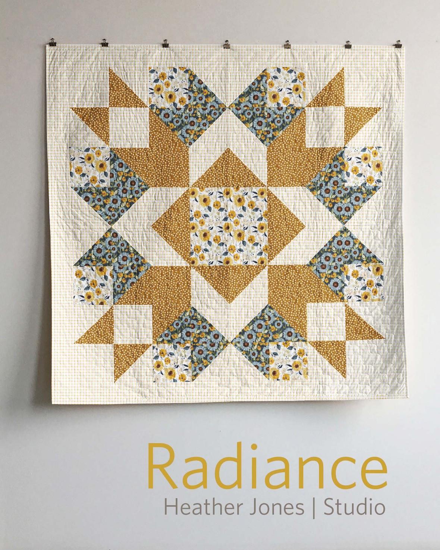 Heather Jones Radience Quilt large scales