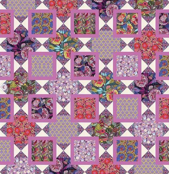 freespiritfabrics-instagram -quilt designed by kitchentablequilting