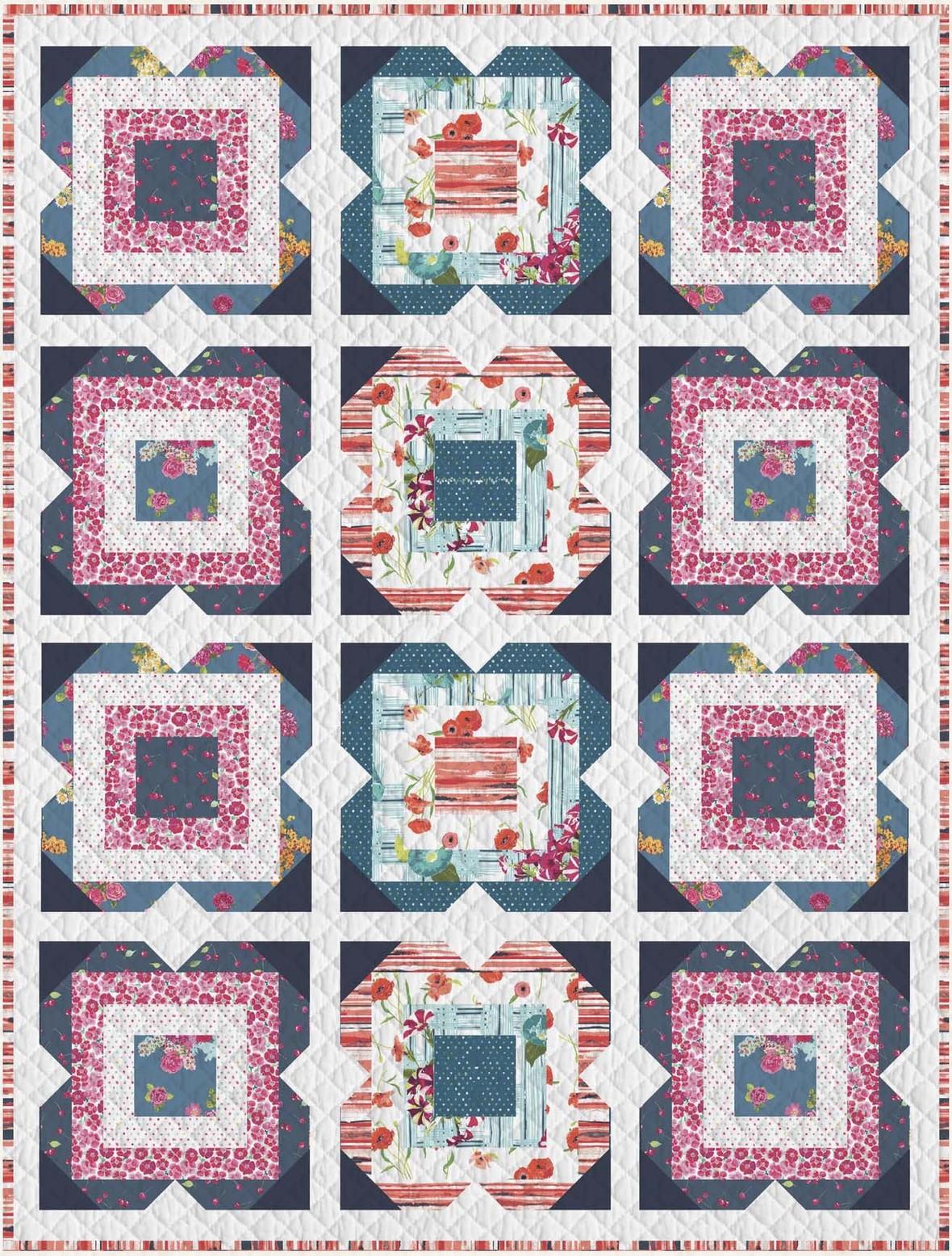 Floralish Quilt Pattern