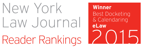 NYLJ-Reader-Rankings-Logo 2015-Best-Docketing-Calendaring e-Law
