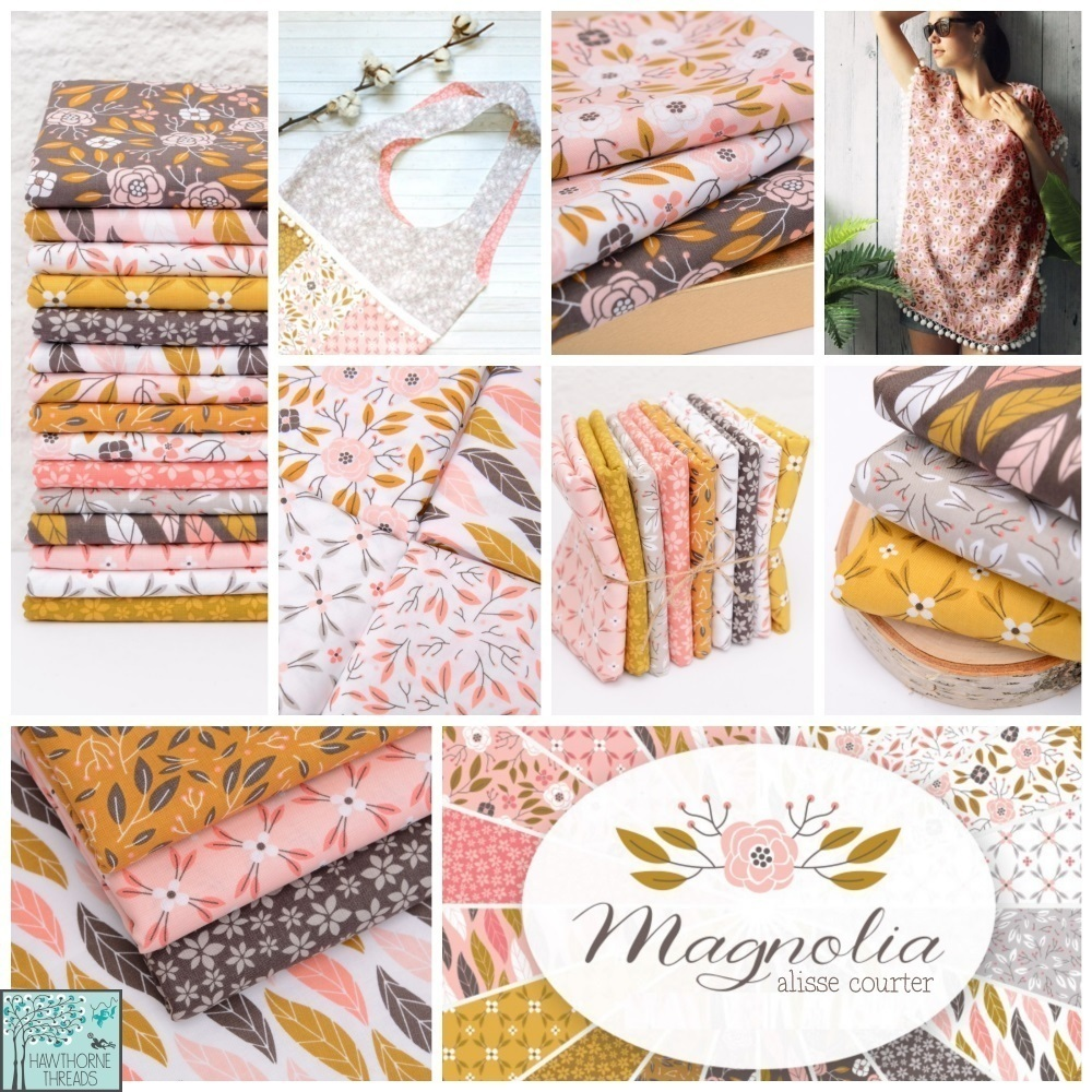 Magnolia Fabric Poster