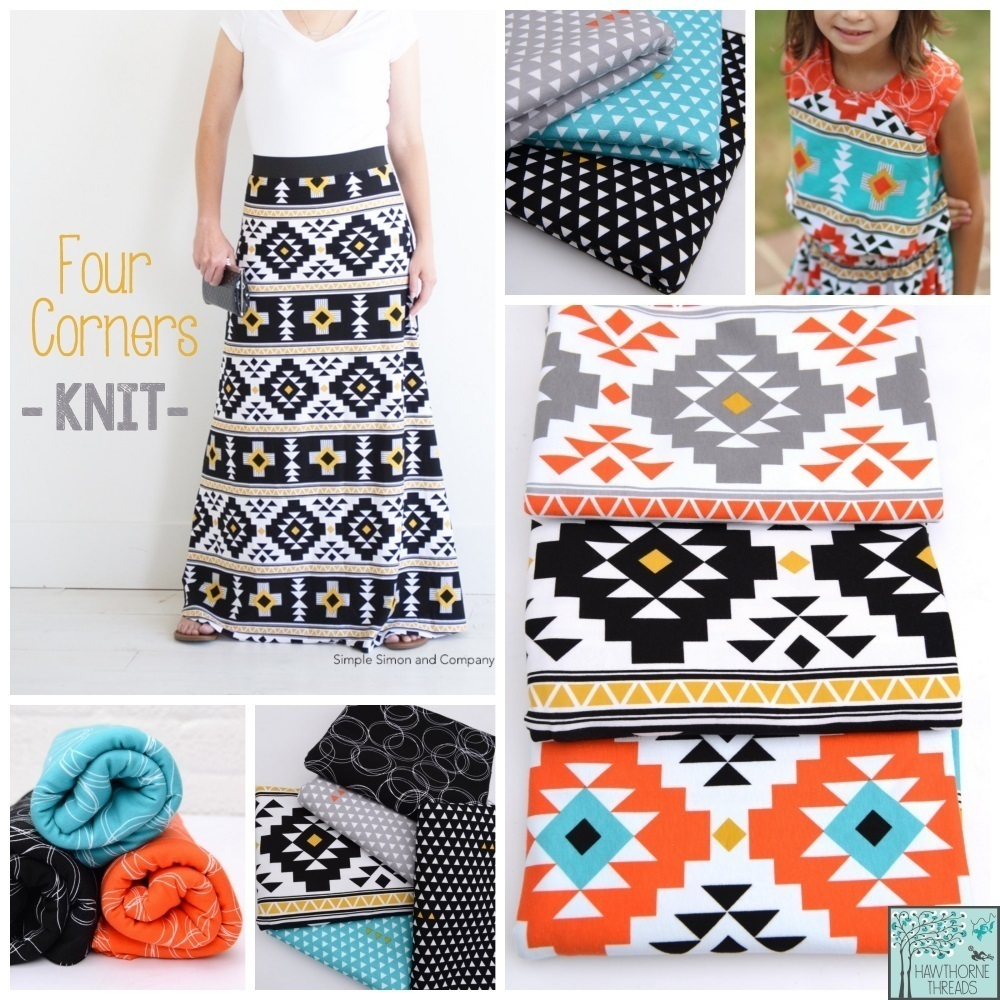 Four Corners Knit Fabric