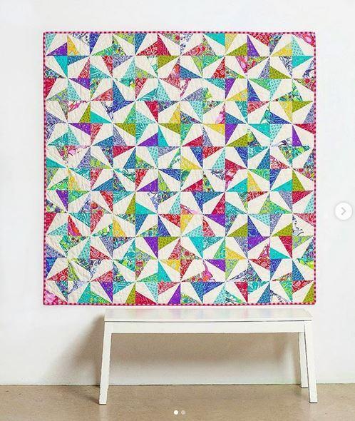 tiedwitharibbon- instagram- Confetti quilt pattern