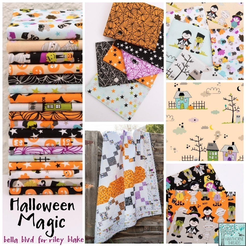 Halloween Magic Fabric Poster