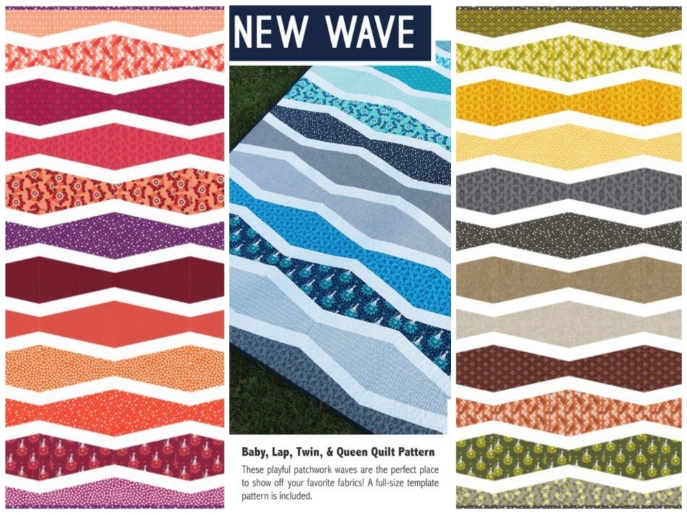 elizabeth hartman new wave sewing pattern Fotor Collage