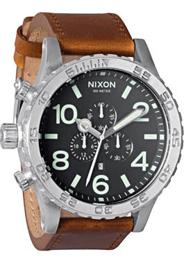 Nixon5130leatherblacksaddleweb