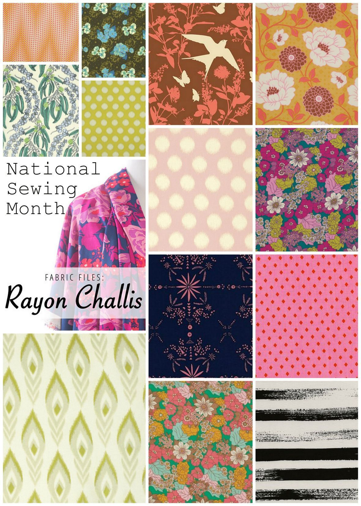 National Sewing Month Rayon Picks
