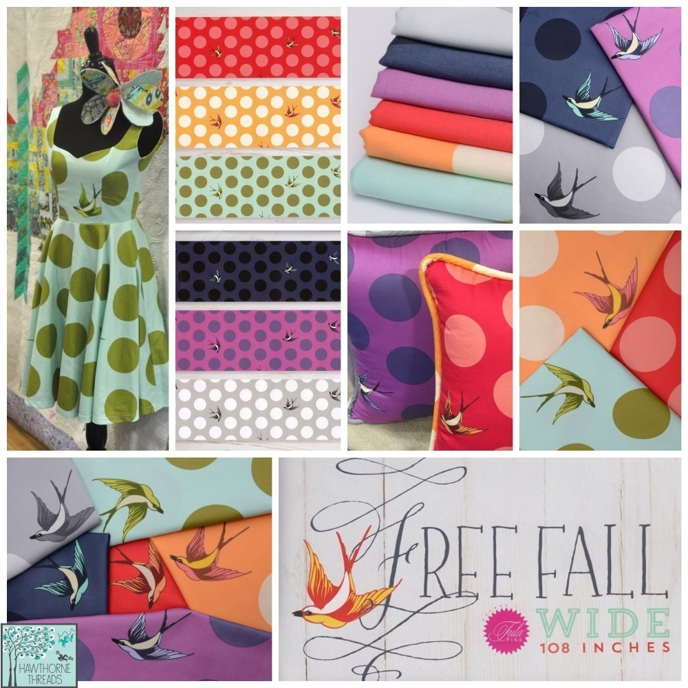 Free Fall Wide Fabric Poster