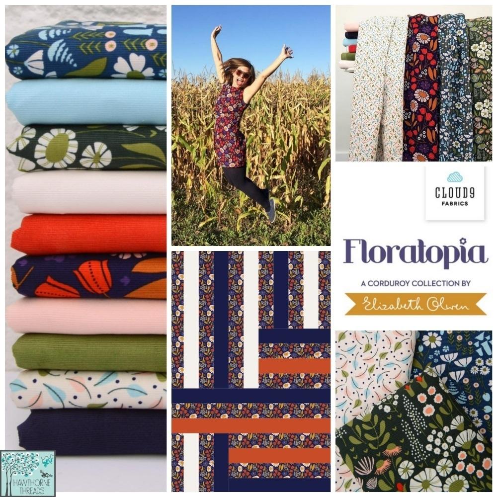 Floratopia Cord Fabric Poster
