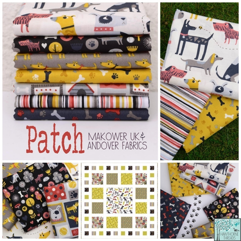 Patch Fabric Andover