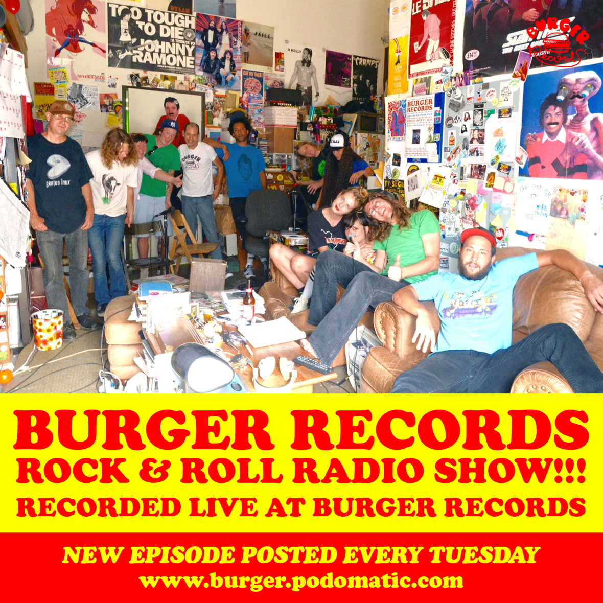 ROCK N ROLL RADIO SHOW COVER40