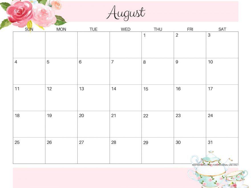 Cute-August-2019-Calendar-Free-Printable-880x660