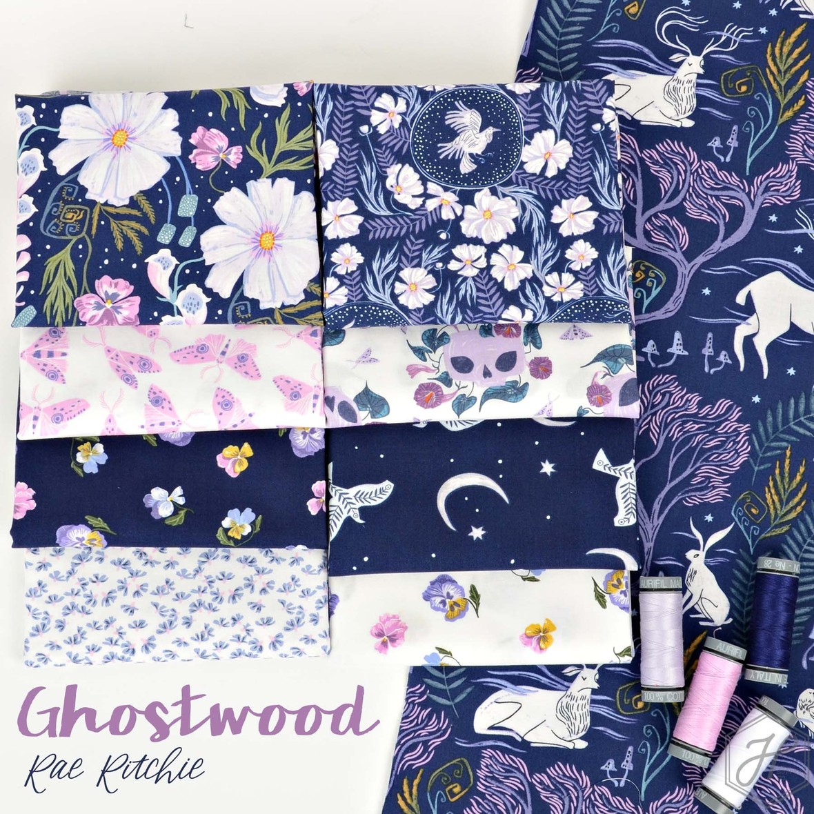 Ghostwood Fabric Poster Rae Ritchie at Hawthorne Supply Co