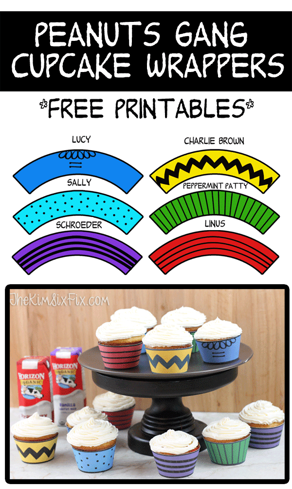 peanuts-cupcake-wrappers-free-printable