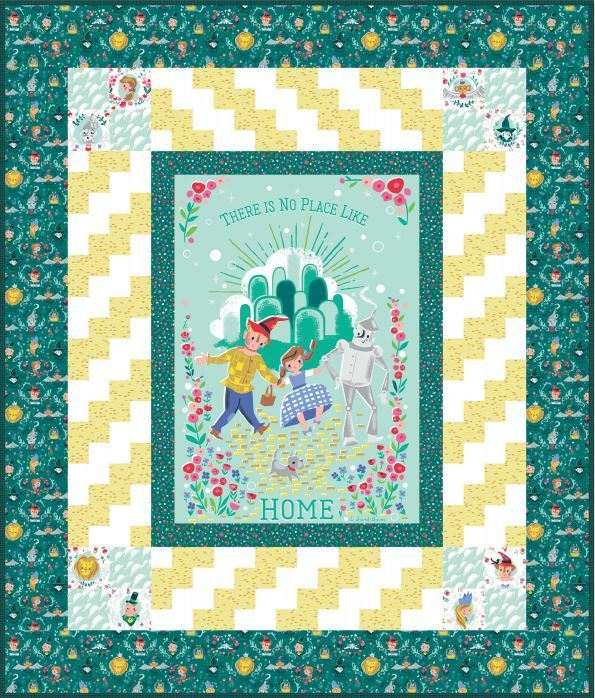 Dorothys Journey Panel Quilt by The RBD Designers