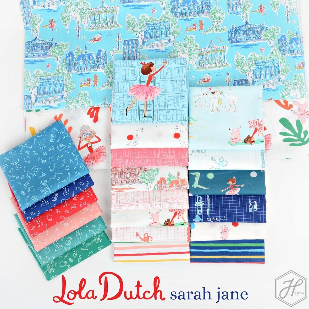 Sarah Jane Lola Dutch Fabric for Michael Miller at Hawthorne Supply CO
