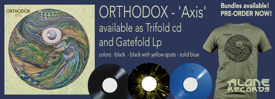 ORTHODOX  y su nuevo LP  AXIS Store
