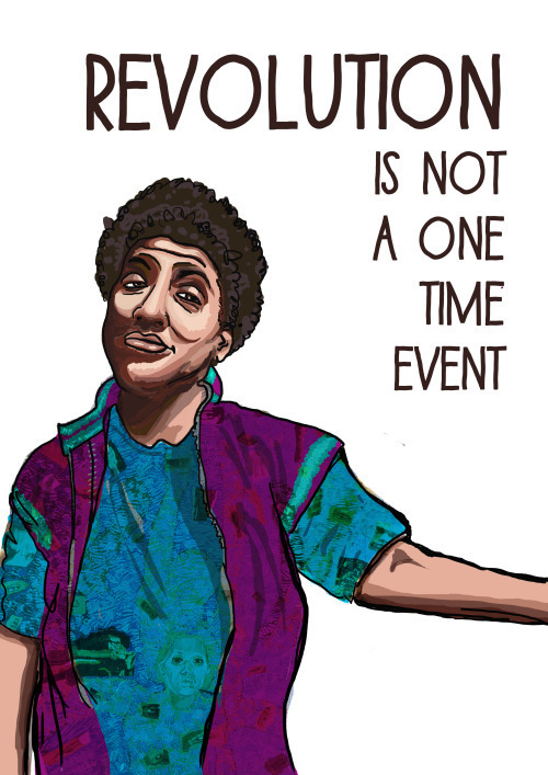 Revolution is not a one time event