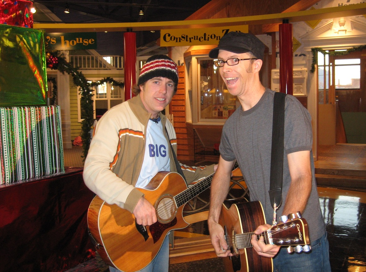Big Bang Boom Band. Steve and Chuck