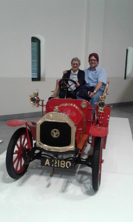 2015.10 Franschoek Motormuseum Etta   die kurator  Wayne Harley