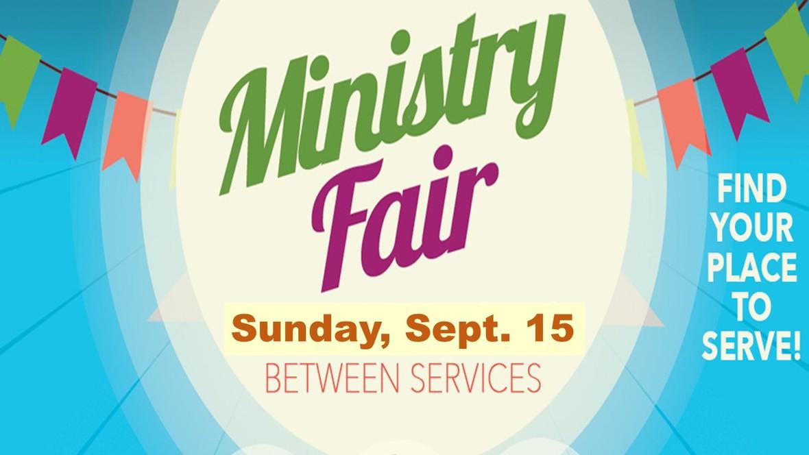 Ministry Fair 2019