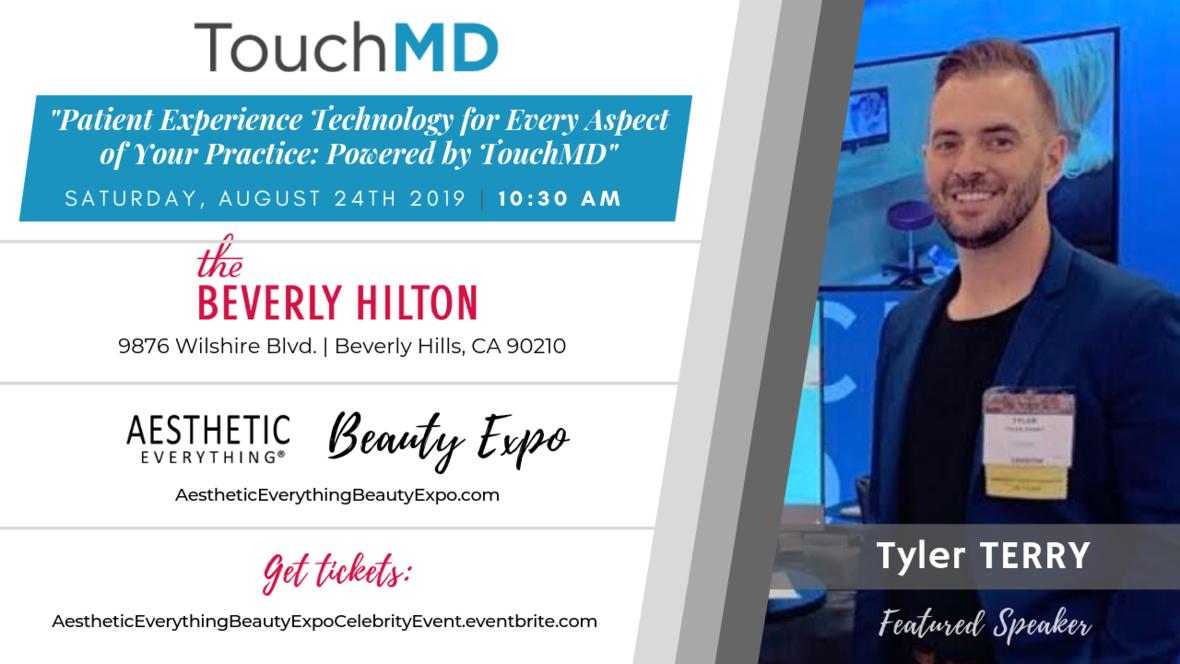 Tyler Terry - Beauty Expo Speaker