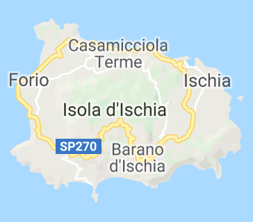 map of ischia