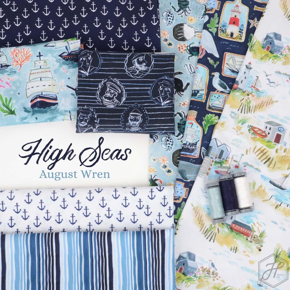 Dear Stella High Seas Fabric at Hawthorne Supply Co