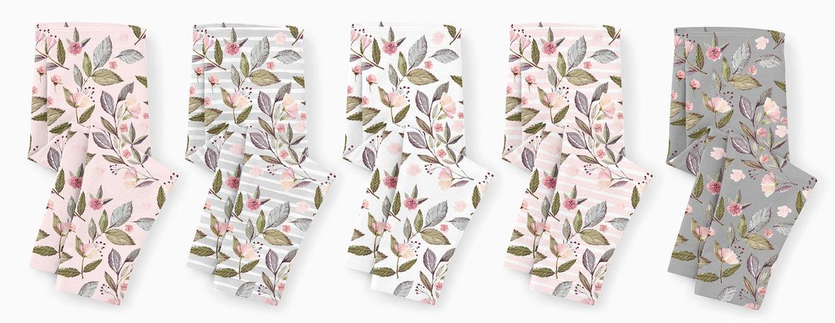baby leggings florals