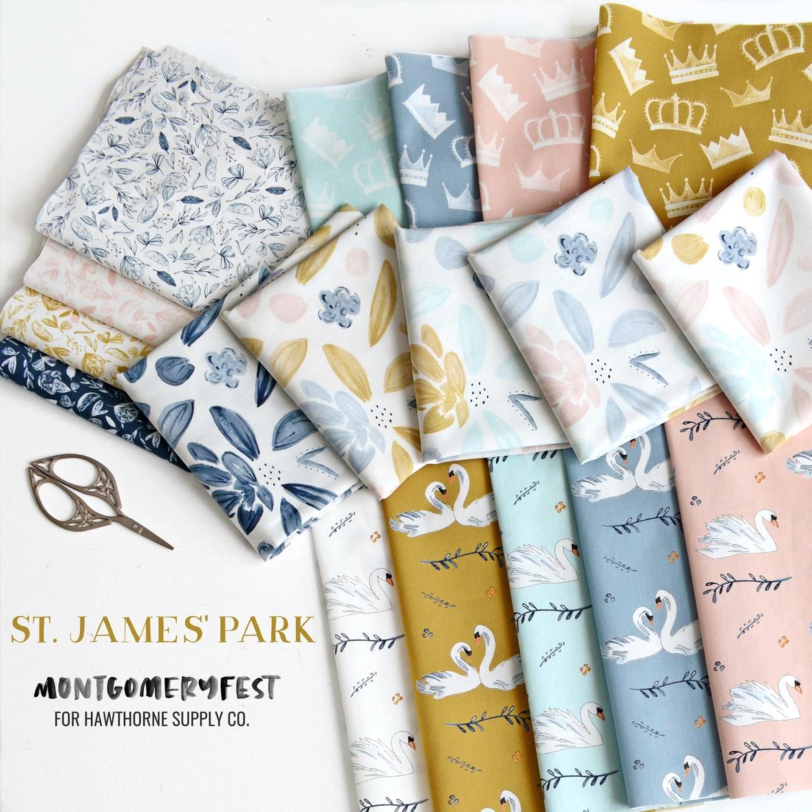 St James Park MontgomeryFest for Hawthorne Supply Co British Fabric