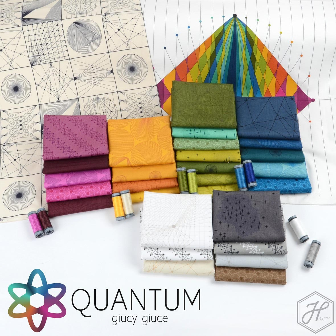Quantum Fabric Poster Giucy Giuce Hawthorne Supply Co